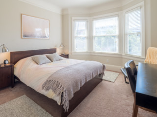 Furnished Room in newly remodeled Victorian Townhouse In the heart...